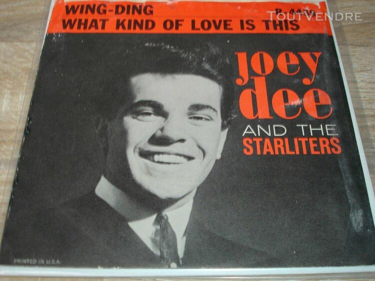 "sp joey dee and the starlighters "" what kind of love is this"