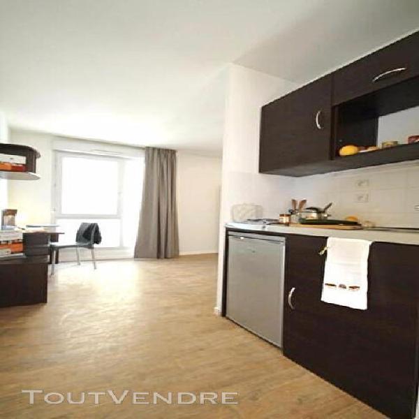 T1 meuble a louer - villeurbanne - résidence etudiante