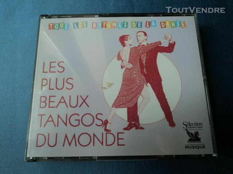triple cd: les plus beaux tangos du monde