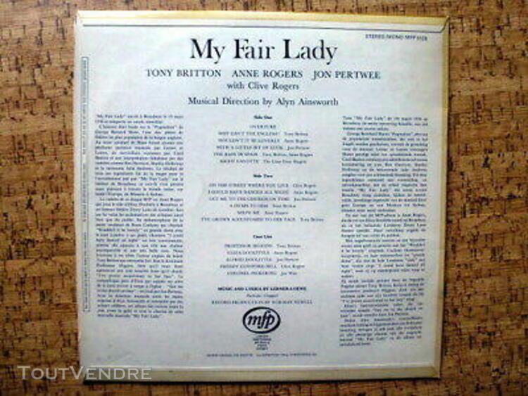 vinyl 33 tours bo originale my fair lady, alyn ainsworth, an