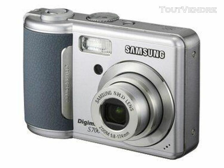 Appareil photo compact samsung digimax s700 compact - 7.2 m