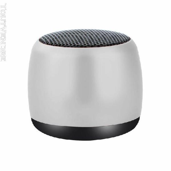 Mini portable mp3 bluetooth + fm haut-parleur de recharge mu