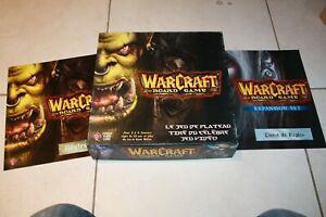 Warcraft le jeu de plateau vf + extention vf bordgame vf ffg