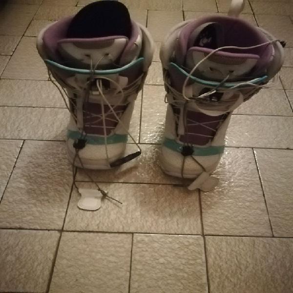 Chaussures de snowboard occasion, bordeaux (33000)
