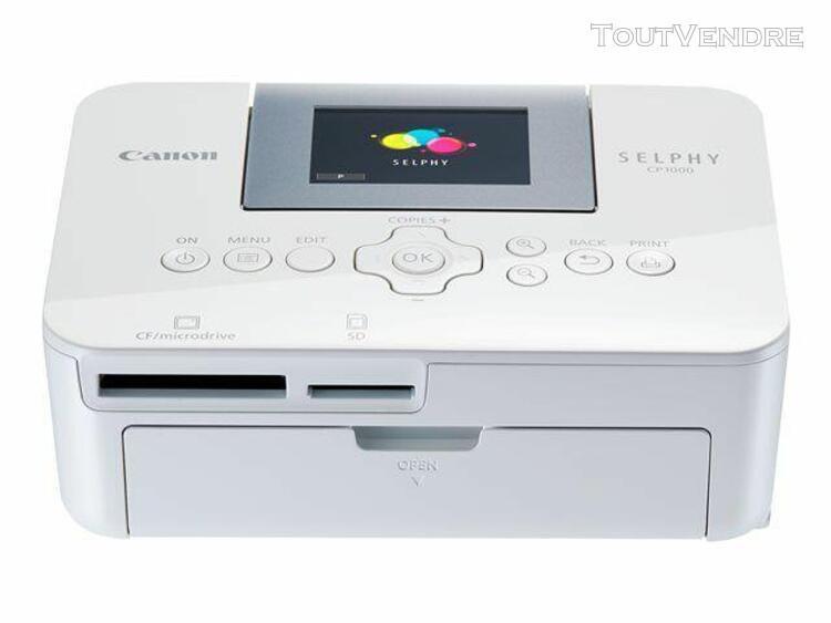 canon selphy cp1000 - imprimante - couleur - thermique par s