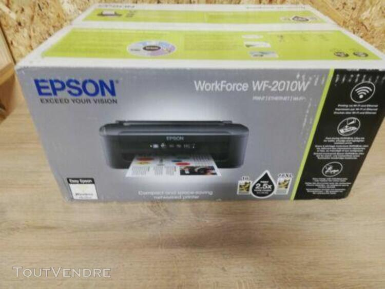 epson workforce wf-2010w imprimante jet d'encre multifonctio