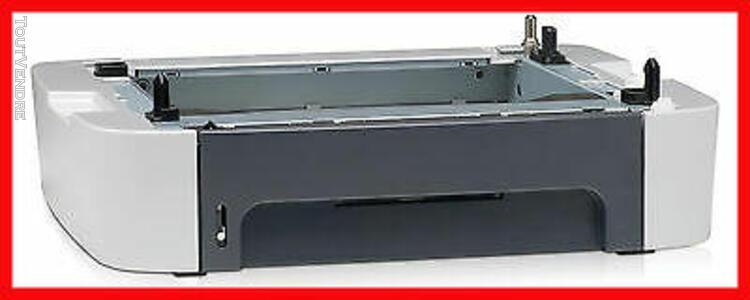 hp bac à papier cassette papier q7556a 250 feuilles pour lj