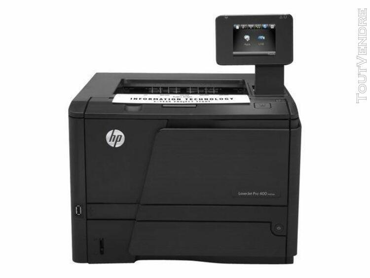 hp laserjet pro 400 m401dn - imprimante - monochrome - recto