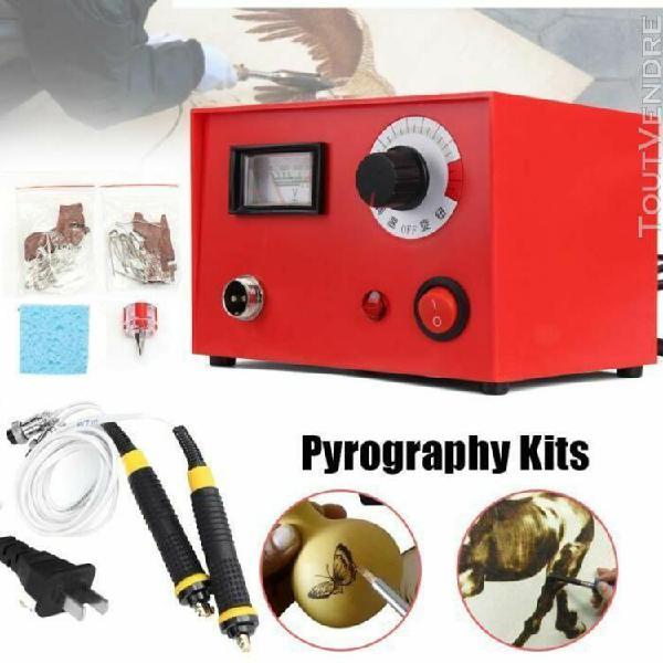 220v 50w multifunction pyrogravure machine pyrograveur stylo