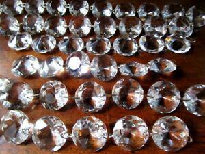 Cristal baccarat 89 pampilles octogonales guilandes pour