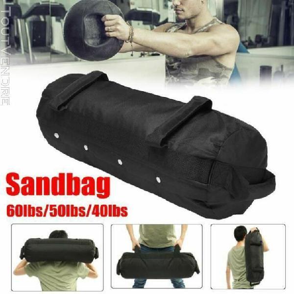 sac sable musculation entraînement puissant 50lbs