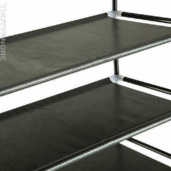 Tagères à chaussures armoire placard 4/8/10 niveaux