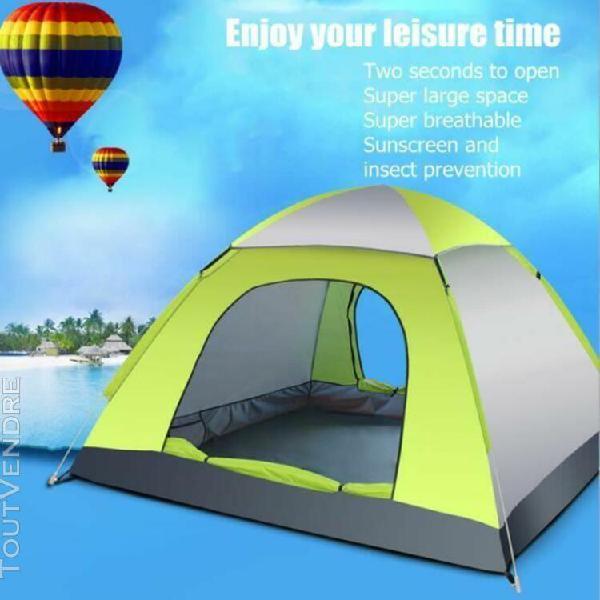 tente de camping 3-4 personnes Étanche À l'extérieur