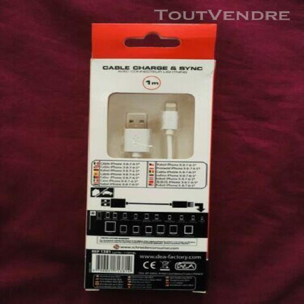Câble chargeur iphone / ipad