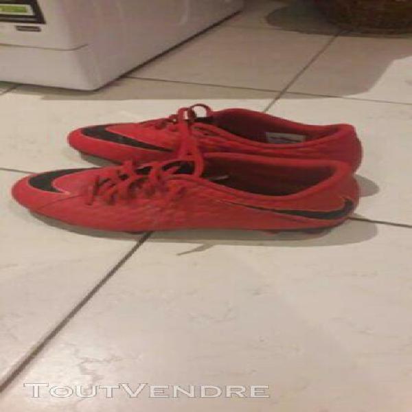 Crampons foot nike rouge 40