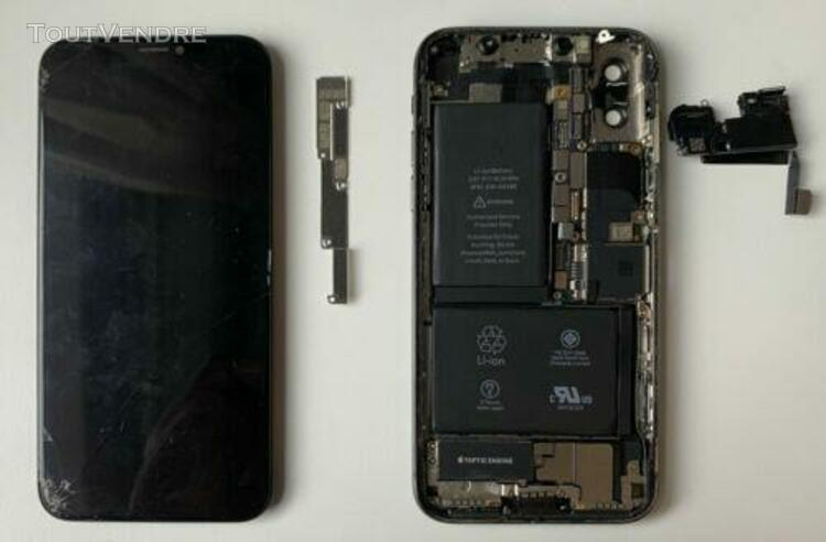 Iphone x gris sidéral pour pièces uniquement (bloqué