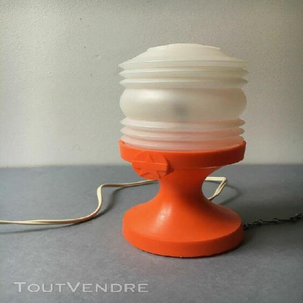Ancienne lampe de camping mazda campelec vintage 1970