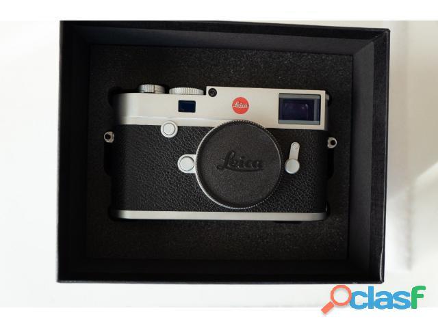 Appareil photo numérique leica m10 (argent)