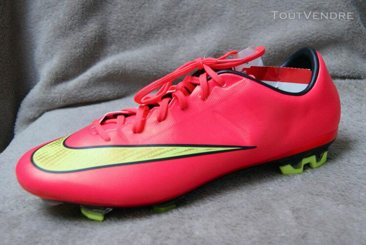 Chaussures football homme ** nike ** t.42/us 8.5 mercurial v