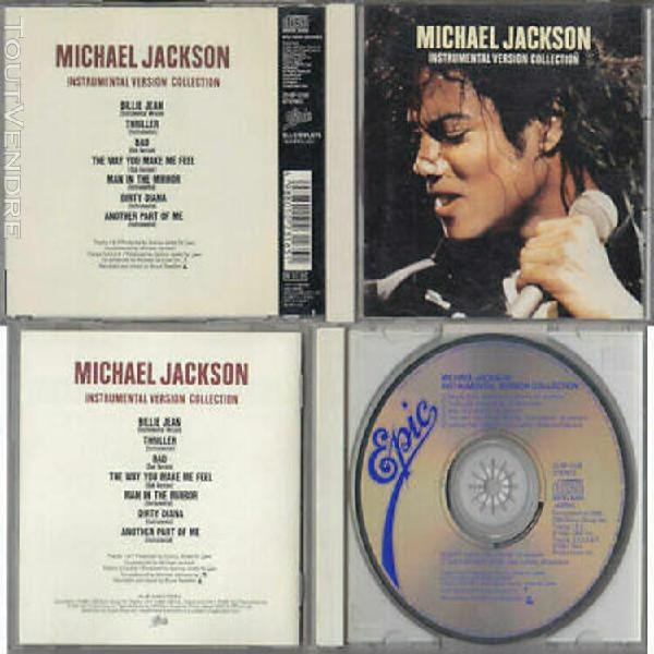 Michael jackson instrumental cd maxi version collection japa