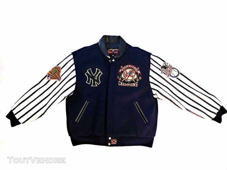 Mlb 1996 new york world series champions jh design jacket (l