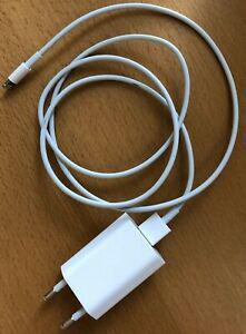Cable lightning usb (1 mètre) iphone - apple chargeur +