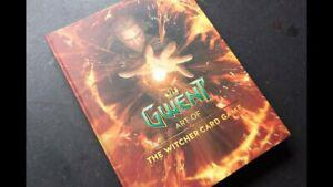 "Livre: "" gwent - art of the witcher card game "" book new"