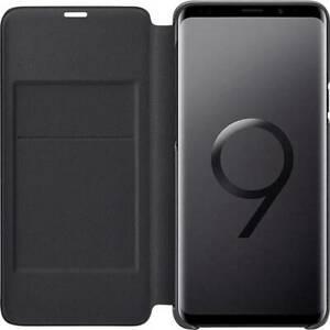 Samsung led view coque arrière galaxy s9+ noir