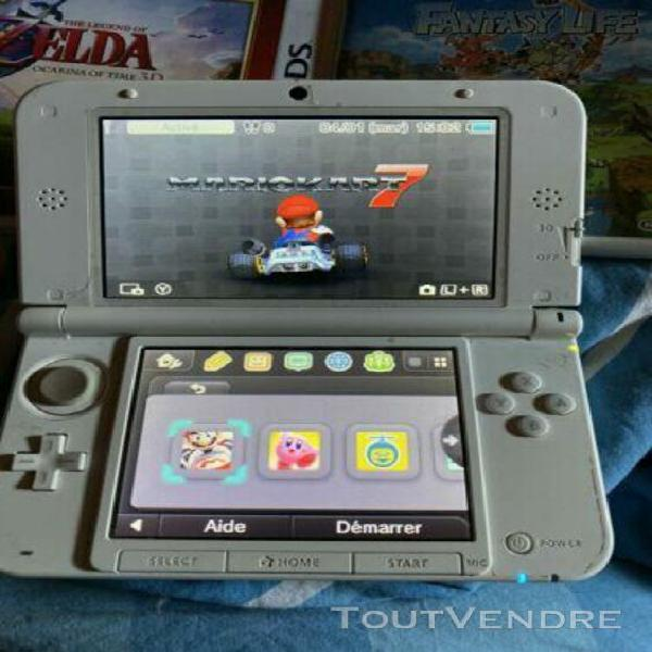 Console 3 ds xl avec 7 jeux