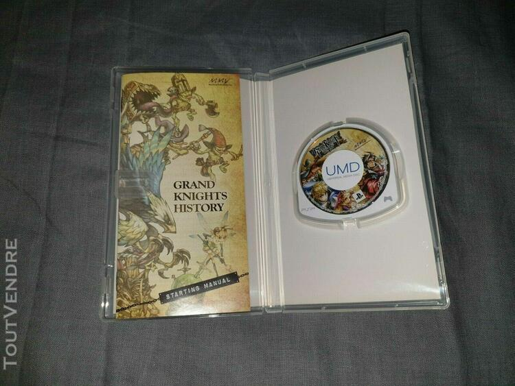 Grand knight history playstation portable psp ntsc jp comple