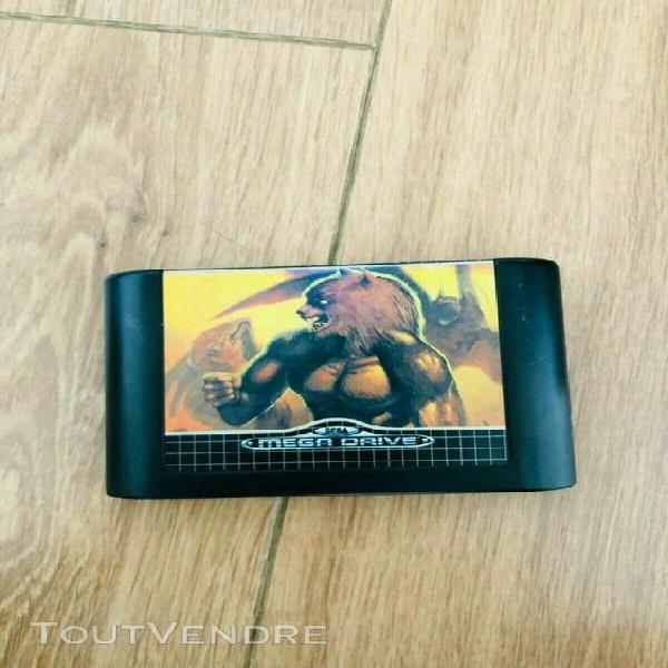 Jeu altered beast sur megadrive en bon etat pal