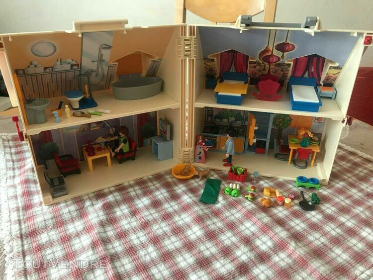 Playmobil maison transportable jeu de construction (5167)