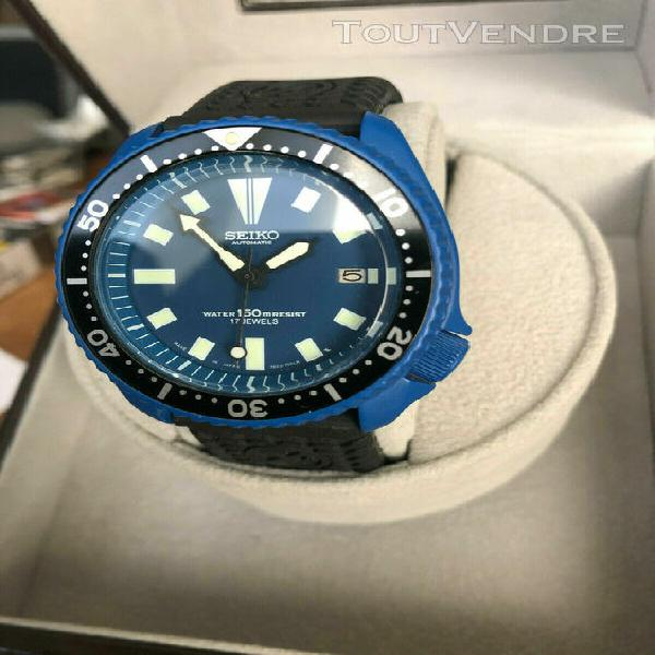 Seiko diver mod custom watch unique....