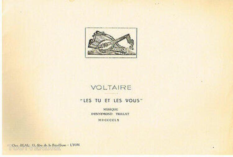 """Les tu et les vous"""" mis en musique par ennemond trillat 196"""