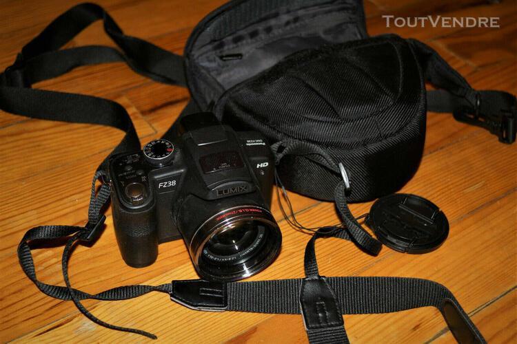 Panasonic lumix dmc-fz38 12.1mp appareil photo bridge-18x zo