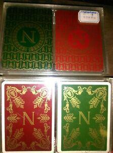 Anciens jeux de cartes neufssamaritaine