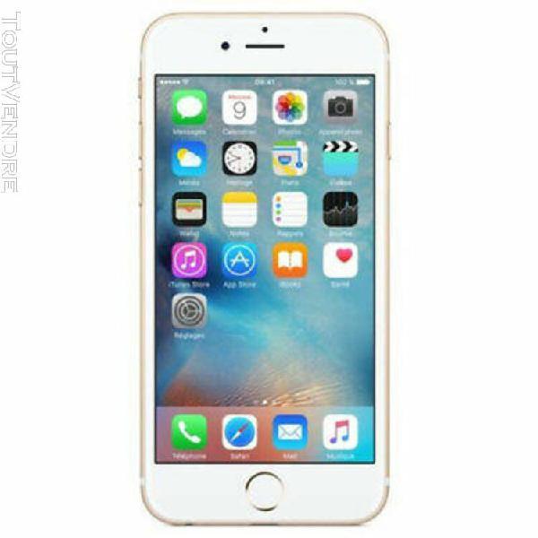 Apple iphone 6 16go débloqué garantie 6mois vendu avec