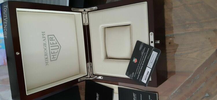 Boite coffret de montre tag heuer mikrograph