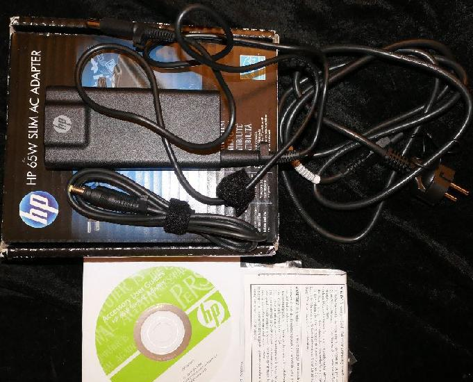 Chargeur hp 65w slim with usb adapter