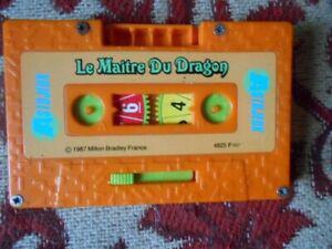 Jeux mb astujeux 1987 le maître du dragon