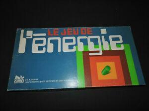 Le jeu de l'energie miro jeu de socièté années 70