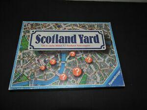 Scotland yard ou se cache mister x ravensburger version 1983