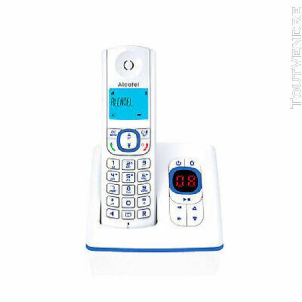 Alcatel f530 voice bleu repondeur produit neuf recondition