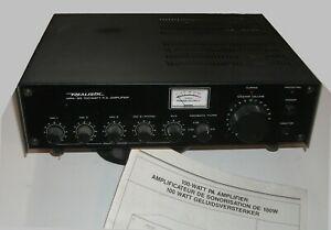 Amplificateur de sonorisation realistic + micro réalistic +
