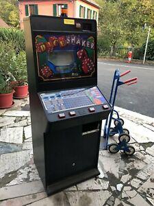 Ancienne machine a sous dice shaker borne casino vintage