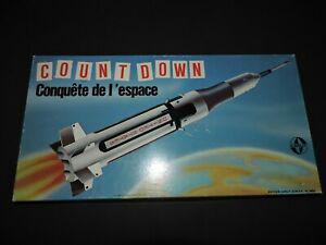 Count down compte à rebours conquête de l'espace