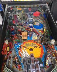 Pinball mods TAF Oncle Fetide Décor Flipper The Addams Family