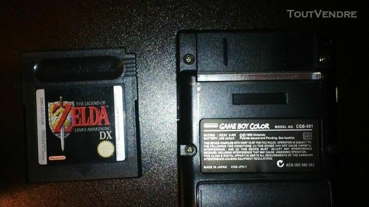 Gameboy color light + zelda link's awakening dx (eur)