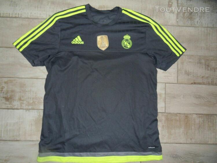 Lot de maillots foot adidas real de madrid et equipe du dane