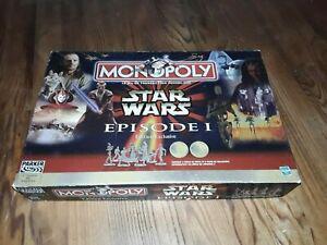 Monopoly star wars épisode 1 hasbro parker 1999